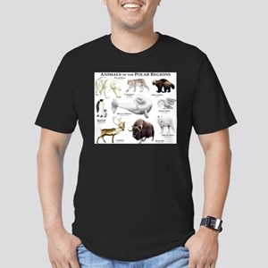 Animals of the Polar Regions Men's Fitted T-Shirt