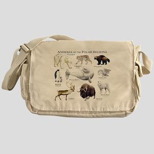 Animals of the Polar Regions Messenger Bag