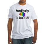 """Neurodiversity"" Fitted T-Shirt"