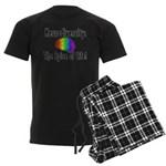 """Neurodiversity"" Men's Dark Pajamas"