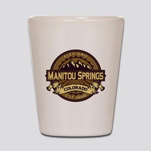 Manitou Springs Sepia Shot Glass