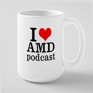 I Heart AMD Large Mug
