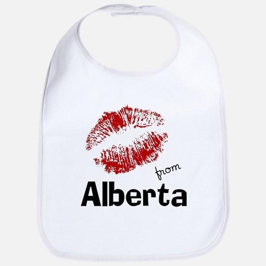 Kisses from Alberta Bib