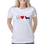 pembrokecorgi_peacelove Women's Classic T-Shirt