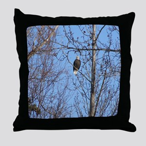 Bald Eagle #02 Throw Pillow