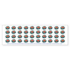 Angelic Feng Shui Emfs Protection Bumper Bumper Sticker