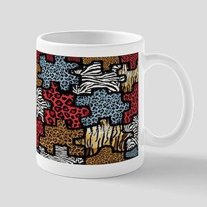 RAB Animal Print Puzzle II Mug