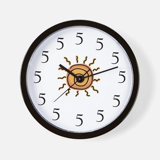 Cute Margarita 5 Wall Clock