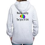 """""""Neurodiversity"""" Women's Zip Hoodie"""