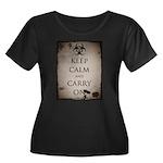 Apocalypse Women's Plus Size Scoop Neck Dark T-Shi