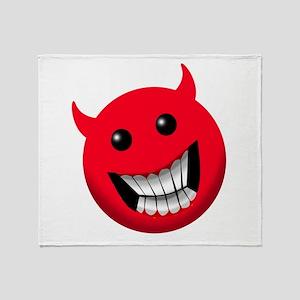 Devil Throw Blanket