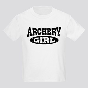 Archery Girl Kids Light T-Shirt