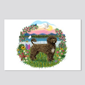 Garden-Shore-PWD(brn) Postcards (Package of 8)