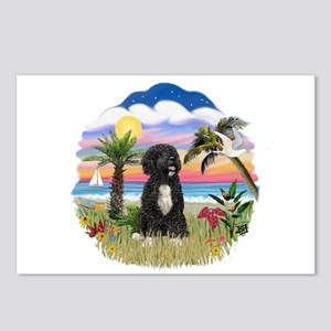 Palms-PWD 5bw Postcards (Package of 8)