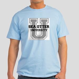 Sea Otter UNIVERSITY Light T-Shirt