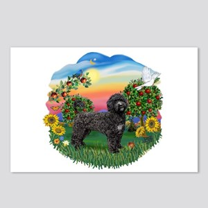 Bright Country - PWD2blk Postcards (Package of 8)