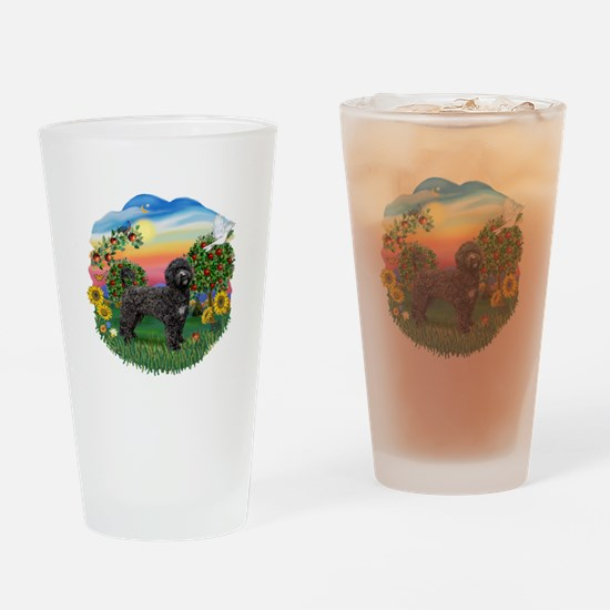 Bright Country - PWD2blk Drinking Glass