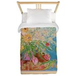 """Power of the Flower"" (TM) Twin Duvet"