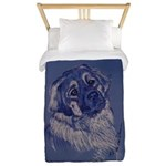 """A Dog Understands"" Leonberger Twin Duvet"