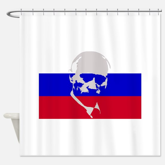 Putin Shower Curtain
