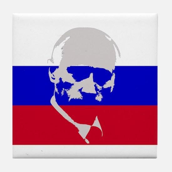 Putin Tile Coaster