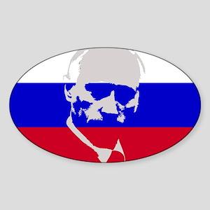 Putin Sticker (Oval)