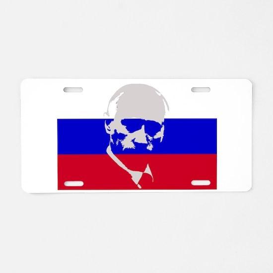 Putin Aluminum License Plate