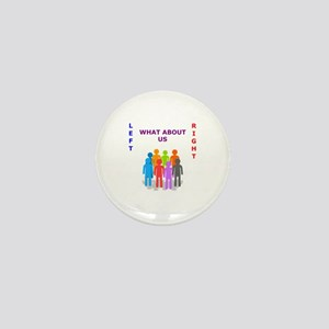 What About Us ? Mini Button 1x1 in.