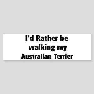Rather: Australian Terrier Bumper Sticker