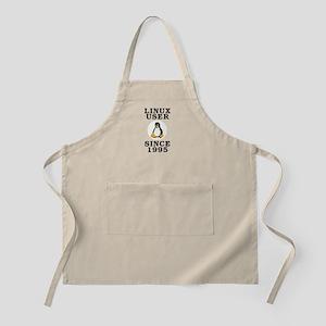 Linux user since 1995 - Apron