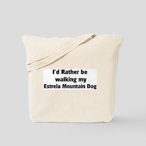 Rather: Estrela Mountain Dog Tote Bag