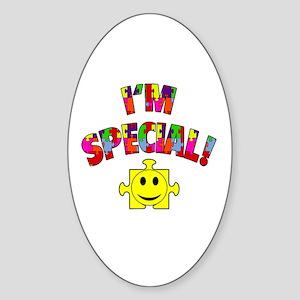 I'm Special! Autism Awareness Sticker (Oval)