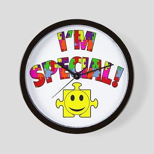 I'm Special! Autism Awareness Wall Clock