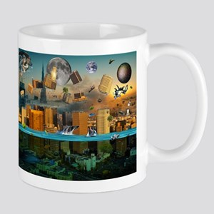 Gravity Confusion City Under Mug