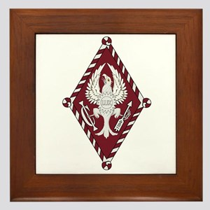 Pi Beta Phi Framed Tile