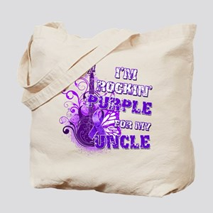 I'm Rockin' Purple for my Unc Tote Bag