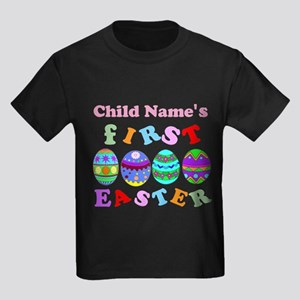 First Easter Keepsake Kids Dark T-Shirt