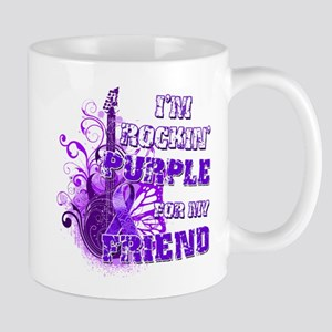 I'm Rockin' Purple for my Fri Mug