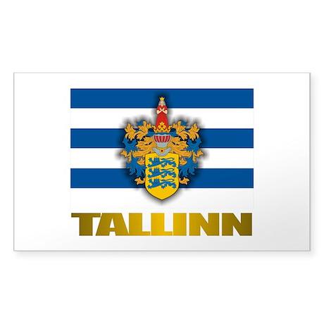 """""""Tallinn"""" Sticker (Rectangle)"""