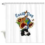 Earth Day Planet Shower Curtain