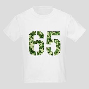 Number 65, Camo Kids Light T-Shirt