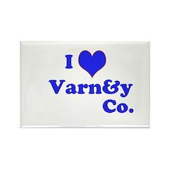 I love Varney & Co. Rectangle Magnet (100 pack