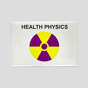 Health Physics Rectangle Magnet