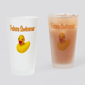 Future Swimmer Drinking Glass