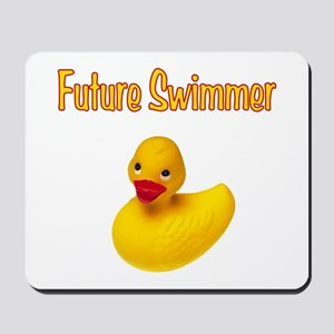 Future Swimmer Mousepad