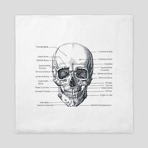 Skull Forward Queen Duvet