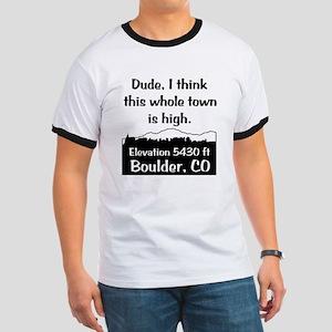 Boulder High Town Ringer T