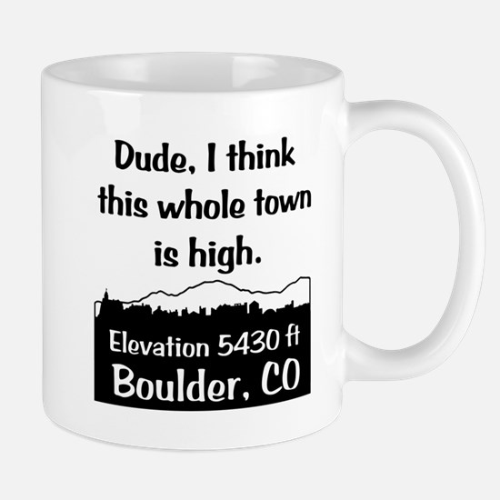 Boulder High Town Mug