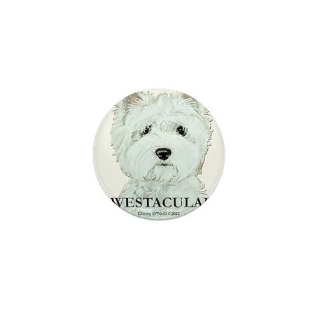 Westacular Westie! Mini Button
