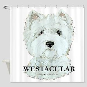 Westacular Westie! Shower Curtain